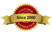 Customer Satisfaction Since 2000